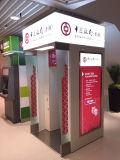 Будочка ATM самообслуживания крена Oudoor автоматическая с коробкой СИД светлой