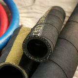 Tuyaux d'air en caoutchouc de textile à haute pression avec l'extrémité de Swiel