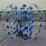 Nuevo diseño asombroso y durable inflable Humano bola de la bola / burbuja de fútbol / bola inflable D5006