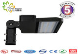 Indicatore luminoso di via approvato dell'UL Dlc ETL LED Shoebox 150W LED del FCC di RoHS del Ce con 5 anni di garanzia