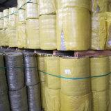 Одеяло шерстей утеса крена минеральных шерстей изоляции с ячеистой сетью