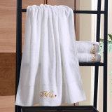 De luxe Aangepaste Katoenen van het Borduurwerk Badhanddoek van het Hotel