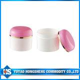 Jars plástico Bottles para Cosmetic Packaging