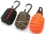 Для использования вне помещений Paracord граната Survival Kit
