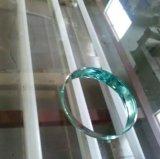 4mm de 6mm 8 mm de verre flotté clair avec des bords de l'Aquarium de verre poli