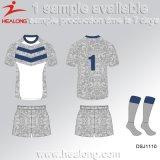 Healong Chine sautent vers le haut la vitesse de vêtements de sport le rugby que des différents de numéro hommes de sublimation utilise
