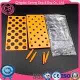 ABS materielle Reagenzglas-Zahnstange