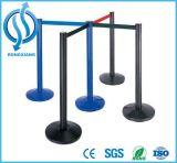 Barrière escamotable de corde de courroie de double d'acier inoxydable