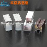 Perfil de aluminio revestido de la protuberancia del polvo para la ventana y la puerta de desplazamiento