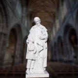 Scultura religiosa della statua, statua religiosa di marmo