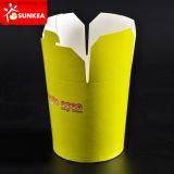 Paper cinese a perdere Food Pails con Handle