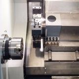 Ck40L Simens/Fanuc 관제사를 가진 기우는 침대 CNC 선반