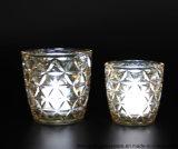 De hete Kruik van de Kaars van het Glas van het Gebruik van de Verkoop Dagelijkse met het Decor van het Huis