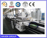 CW62100DX8000水平の頑丈なギャップのベッドの旋盤機械