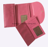 Мягкий бумажник женщин PU кожаный Trifold с владельца карточки