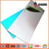 Espejo de diferente color Panel Compuesto de Aluminio utilizado en la construcción de la Decoración