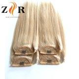 Colore #60 nessun estensioni peruviane di secchezza dei capelli di Ponyail dei capelli umani