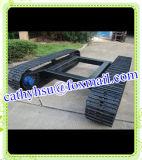 Cutom baute die 8 Tonnen-Stahlspur-Fahrgestell von der China-Fabrik auf