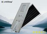 6500-7500K 고능률 Bridgelux는 한세트 LED 태양 가로등을 잘게 썬다