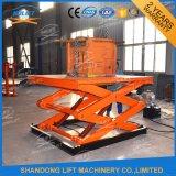Китай производство Стационарный гидравлический подъемный стол ножничного типа платформы цена