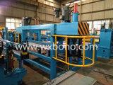 Máquina que raja de la bobina de acero del metal