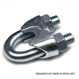 ワイヤーロープクリップDIN 741ステンレス鋼AISI 316