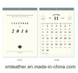 Изготовленный на заказ стена Caendar календара печатание
