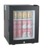 Minibar de dégivrage automatique d'hôtel avec la porte en verre
