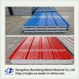 El panel decorativo aislado de acero de la espuma de Plystyrene del panel de emparedado del color EPS