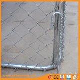 Installation facile galvanisé Chenil de maillon de chaîne