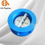 Soupape de contrôle de type galette / plaque double clapet antiretour