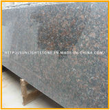 Spitzennatürlicher Poliertan Brown/englischer Brown-Granit für Fußboden &Countertop