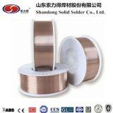 Solda contínua Co. de Shandong, fio de soldadura Er70s-6/Sg2/Sg3si1 do Ltd MIG