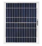 Panneau solaire 10W avec tension 18V pour système d'éclairage solaire