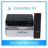 Matériel de radiodiffusion Hevc Decoder DVB S2 DVB T2 DVC C Zgemma H5