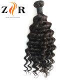 Cheveux humains de Vierge d'onde desserrée indienne en gros de cheveu