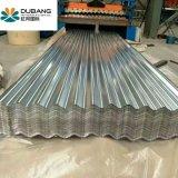 최상 Gi/Gl에 의하여 직류 전기를 통하는 물결 모양 강철판 원료 Gl