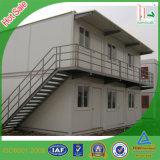 Dois andares com estrutura de aço galvanizado pré fabricados House