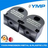 Servicio de fresado CNC de aluminio anodizado negro