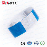 Wristband disponible de RFID Tyvek para el hospital