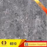 azulejo Polished gris de la pared del suelo de la porcelana de 600X600m m (T6510)