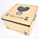 Pequeño plegable de cartón personalizadas de Almacenamiento de envases de papel Caja de regalo