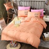 Conjunto impreso algodón llano sólido barato del lecho de la colección del dormitorio del precio