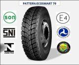 Tout l'acier des pneus radiaux Truck & Bus avec certificat de la CEE 13r22.5 (ECOSMART 79 ECOSMART 81)