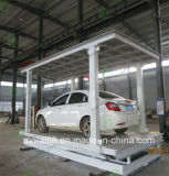 Plate-forme hydraulique de véhicule/double plate-forme de levage de paquet avec du CE à vendre