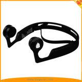 開きなさい耳の無線骨導のBluetooth V4.2のヘッドホーン(黒)を