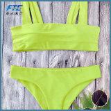 여자는 색깔 형식 비키니 수영복 수영복을 한탄한다