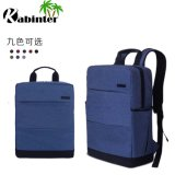 Sac d'épaule matériel en nylon de double de sac à dos de couche d'ordinateur portatif de sac d'école de sac de sac à dos