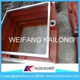 Alta boccetta della fonderia del contenitore di sabbia della boccetta della fonderia della casella della fonderia di produzione