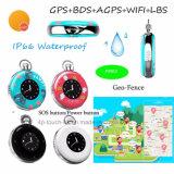 個人的のためのAgps+Lbs+WiFiの位置携帯用小型GPSの追跡者か子供Pm03